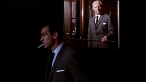 He's behind you...Sean Connery is at the top of his game in 'From Russia With Love' but has his 007 met his match in Robert Shaw's Red Grant?