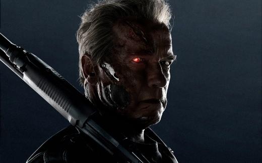 Back for more: Arnold Schwarzenegger returns in the enjoyable 'Terminator Genisys'.