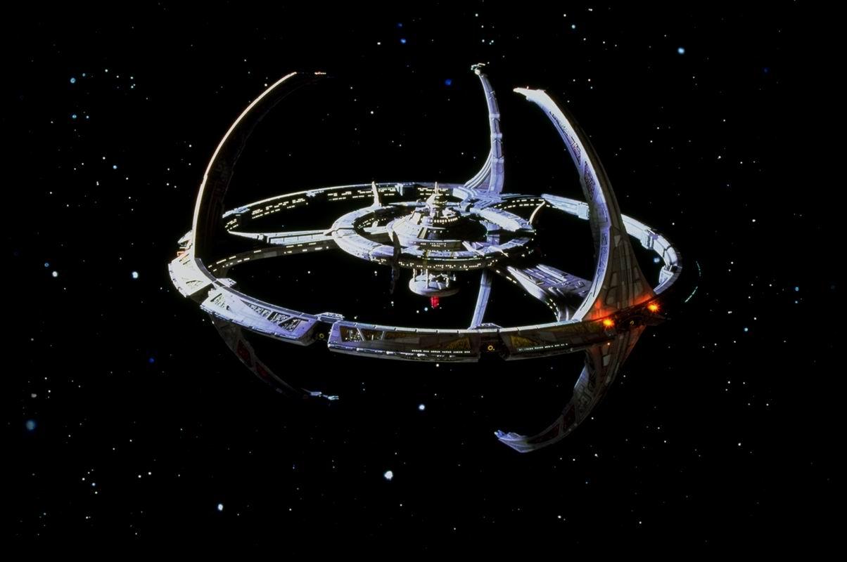 Trek DS9 Emissary - station